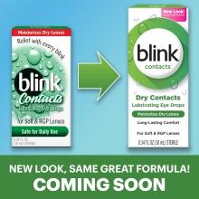 blink drops, eye drops, lubricating eye drops, dry eye drops, eye care