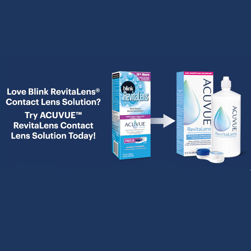 safety, isi, revitalens, blink, contact solution, contact lens solution, contact solution information, clean contact lenses, disinfect contacts, eye care