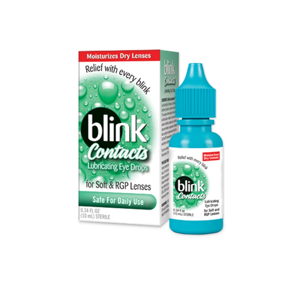 blink drops, eye drops, lubricating eye drops, dry eye drops, eye care